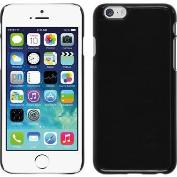 Hardcase for Apple iPhone 6 leather optics black