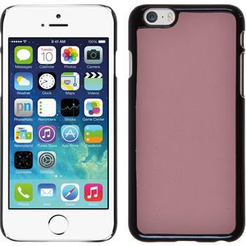 Hardcase for Apple iPhone 6 leather optics pink