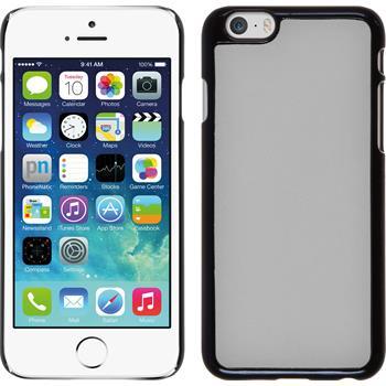 Hardcase for Apple iPhone 6 leather optics white