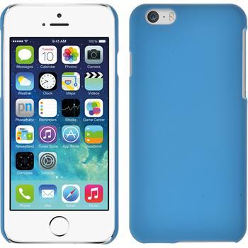 Hardcase for Apple iPhone 6 rubberized light blue