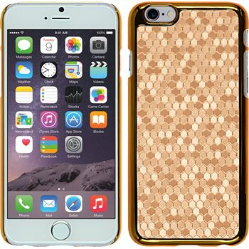 Hardcase for Apple iPhone 6 hexagon gold