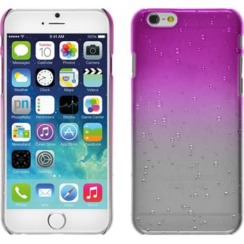 Hardcase for Apple iPhone 6 Waterdrops hot pink