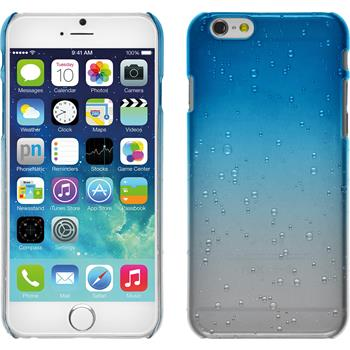 Hardcase for Apple iPhone 6 Waterdrops light blue