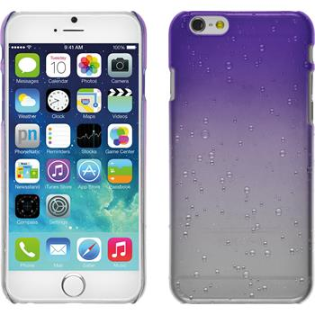Hardcase for Apple iPhone 6 Waterdrops purple