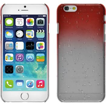 Hardcase for Apple iPhone 6 Waterdrops red