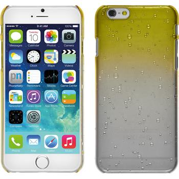Hardcase for Apple iPhone 6 Waterdrops yellow