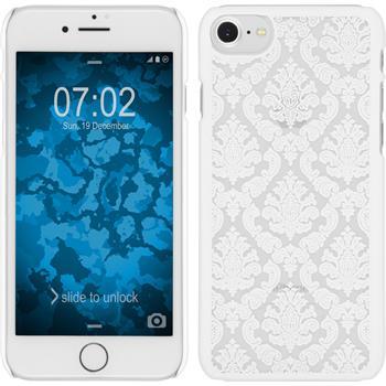 Hardcase for Apple iPhone 7 Damask white