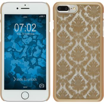 Hardcase for Apple iPhone 7 Plus Damask gold