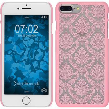 Hardcase for Apple iPhone 7 Plus Damask pink
