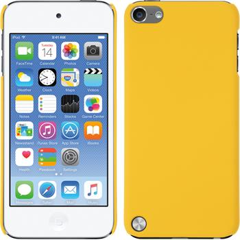 Hardcase for Apple iPod touch 5 / 6 rubberized yellow