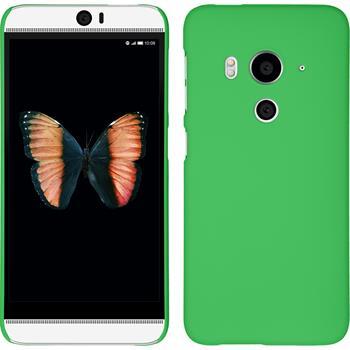Hardcase for HTC Butterfly 3 rubberized green