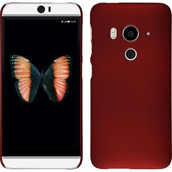 Hardcase for HTC Butterfly 3 rubberized red
