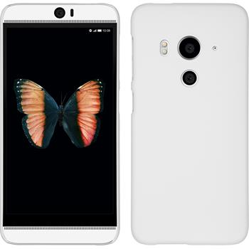 Hardcase for HTC Butterfly 3 rubberized white