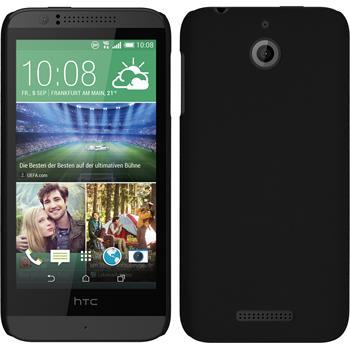 Hardcase for HTC Desire 510 rubberized black
