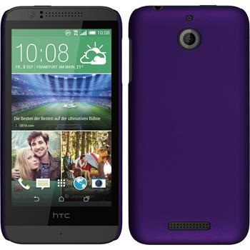 Hardcase for HTC Desire 510 rubberized purple