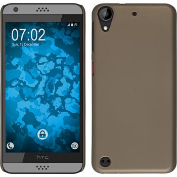 Hardcase for HTC Desire 530 rubberized gold