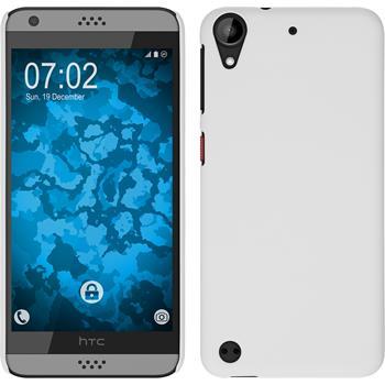 Hardcase for HTC Desire 630 rubberized white