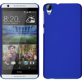 Hardcase for HTC Desire 820 rubberized blue