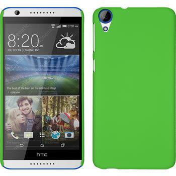 Hardcase for HTC Desire 820 rubberized green