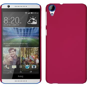 Hardcase for HTC Desire 820 rubberized pink