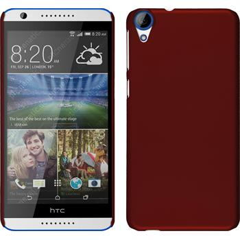 Hardcase for HTC Desire 820 rubberized red