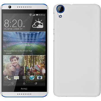 Hardcase for HTC Desire 820 rubberized white