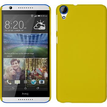 Hardcase for HTC Desire 820 rubberized yellow