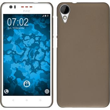 Hardcase for HTC Desire 825 rubberized gold