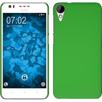 Hardcase for HTC Desire 825 rubberized green