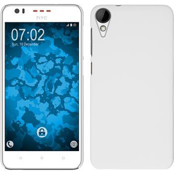 Hardcase for HTC Desire 825 rubberized white