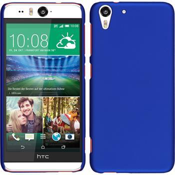 Hardcase for HTC Desire Eye rubberized blue