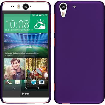 Hardcase for HTC Desire Eye rubberized purple