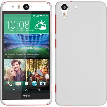 Hardcase for HTC Desire Eye rubberized white
