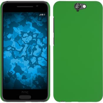 Hardcase for HTC One A9 rubberized green
