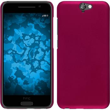 Hardcase for HTC One A9 rubberized hot pink