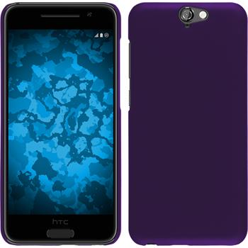 Hardcase for HTC One A9 rubberized purple