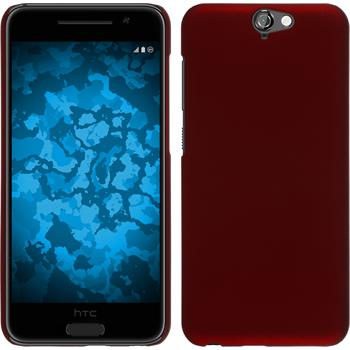 Hardcase for HTC One A9 rubberized red