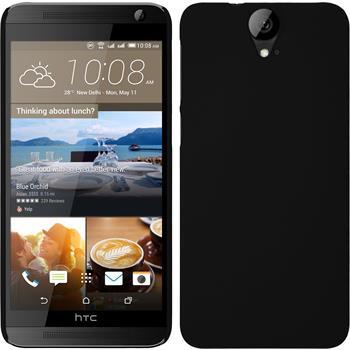 Hardcase for HTC One E9+ rubberized black
