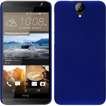 Hardcase for HTC One E9+ rubberized blue