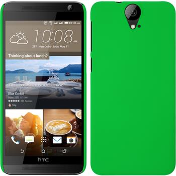 Hardcase for HTC One E9+ rubberized green