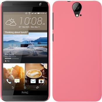 Hardcase for HTC One E9+ rubberized pink