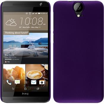 Hardcase for HTC One E9+ rubberized purple