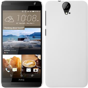 Hardcase for HTC One E9+ rubberized white