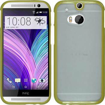 Hardcase for HTC One M8 Frame green
