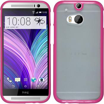 Hardcase for HTC One M8 Frame hot pink