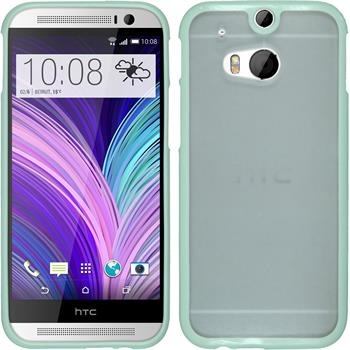 Hardcase for HTC One M8 Frame pastel green