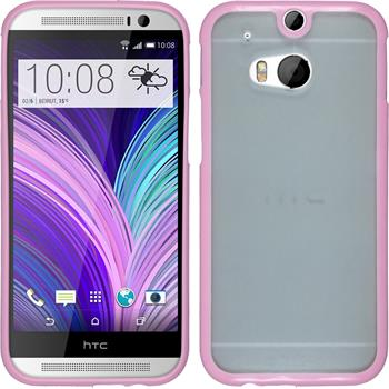 Hardcase for HTC One M8 Frame pink