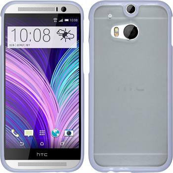 Hardcase for HTC One M8 Frame purple