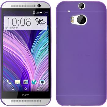 Hardcase for HTC One M8 Slimcase purple