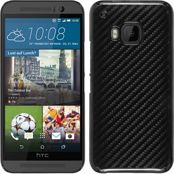 Hardcase for HTC One M9 carbon optics black